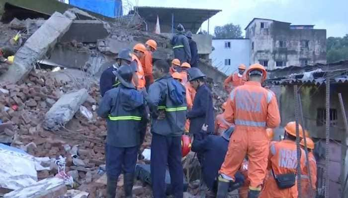 Four-storey building collapses in Maharashtra's Bhiwandi; 2 dead, several injured