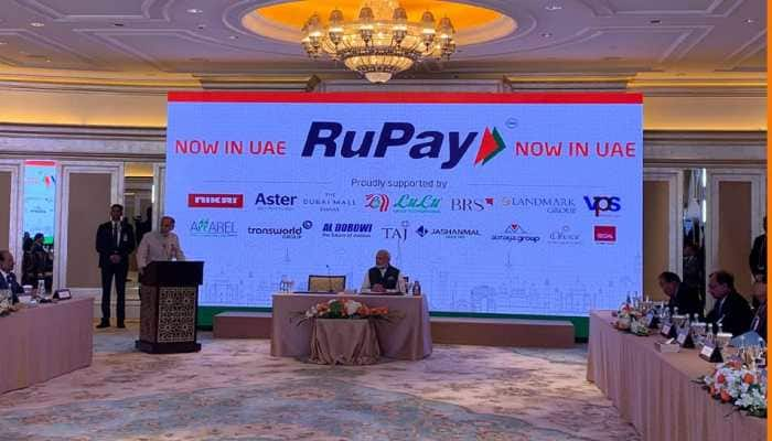 PM Modi launches RuPay card in UAE, buys sweets using it