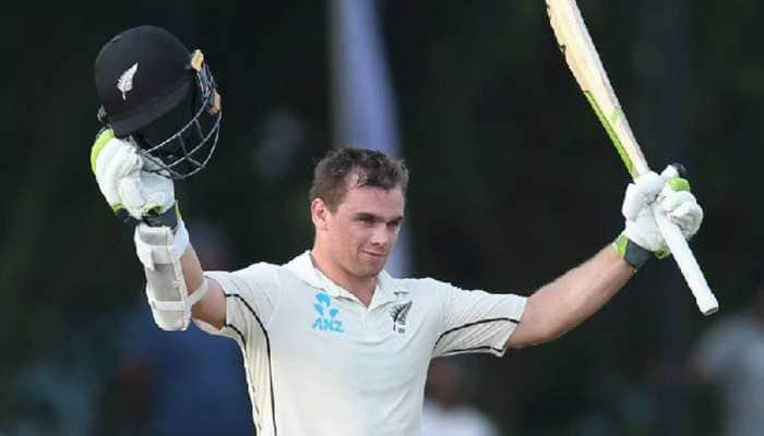 Tom Latham ton puts New Zealand on course to take lead against Sri Lanka