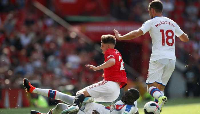 Patrick Van Aanholt gives Crystal Palace shock 2-1 win at Manchester United