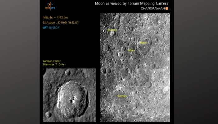 Chandrayaan 2's Terrain Mapping Camera-2 shoots photos of Moon's surface