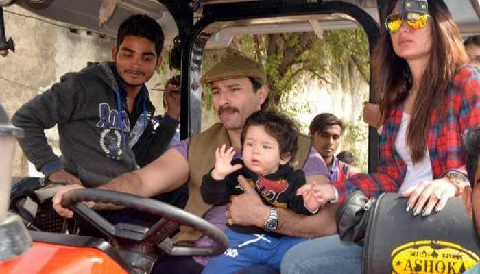 Saif Ali Khan opens up about Taimur Ali Khan's Bollywood debut
