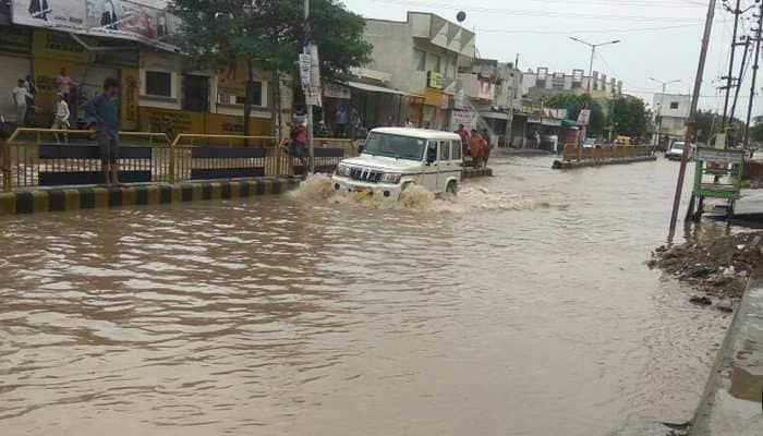 Gujarat: Heavy rains in Vadodara, Ahmedabad on Wednesday; wet spell to continue till Thursday