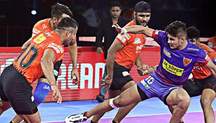 PKL 7: Naveen Kumar guides Dabang Delhi to thumping win over U Mumba