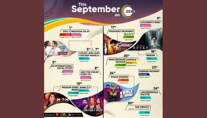 From Kalki Koechlin to Rajkummar Rao, ZEE5's September line-up will keep you hooked