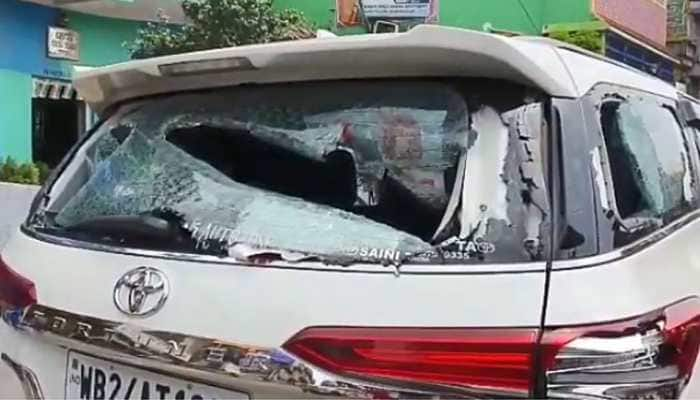 BJP MP Arjun Singh's car ransacked by TMC supporters in North 24 Parganas