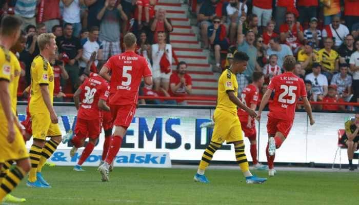 Union Berlin shock Borussia Dortmund 3-1 for maiden Bundesliga win
