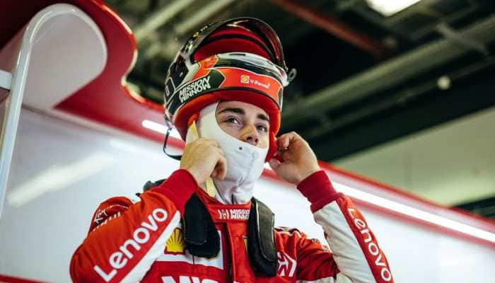 Charles Leclerc leads Ferrari front-row lockout on tragic day