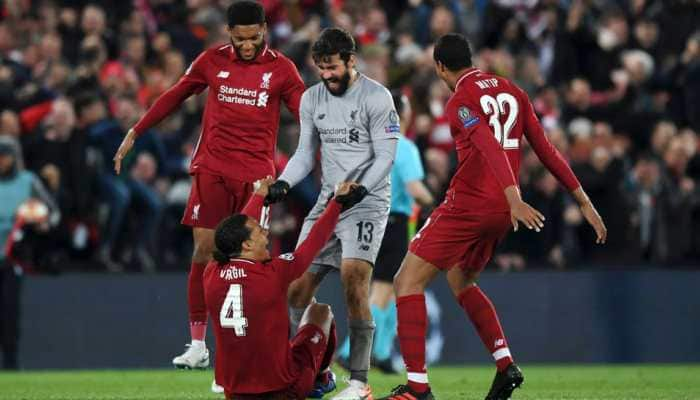 Premier League: Liverpool stay top with record-breaking win over Burnley