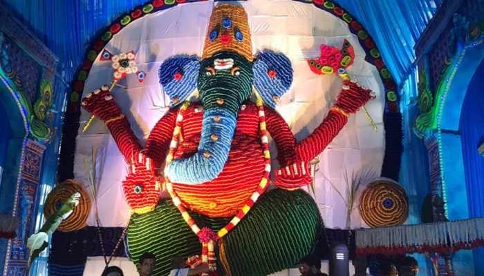 Ganesh Chaturthi 2019: Tirupati's recyclable 'Mattigaajula Ganesh' is made of bangles