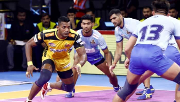 PKL 7: Telugu Titans outperform Tamil Thalaivas 35-30