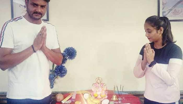 Rani Chatterjee begins new film 'Lady Singham' on Ganesh Chaturthi—See pic