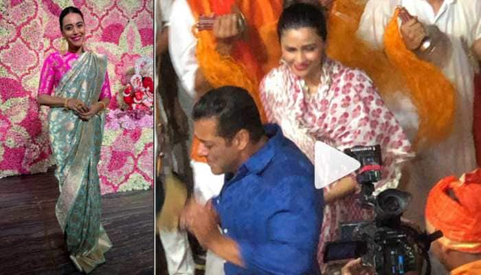 Salman Khan dances his heart out on Ganpati Visarjan, Swara Bhasker joins festivity—Watch