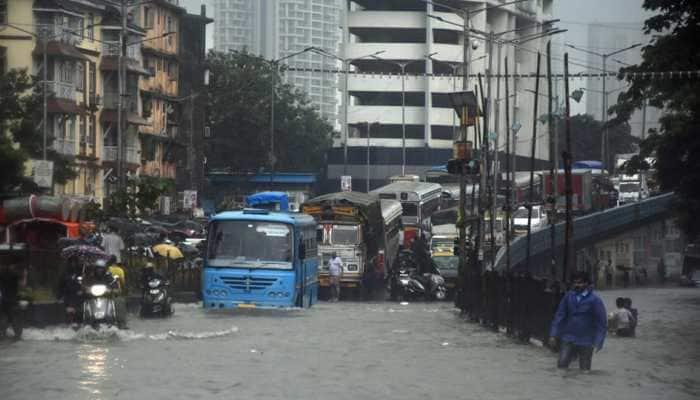 Road, rail, air traffic hit as rains pound Mumbai; heavy showers predicted on Thursday
