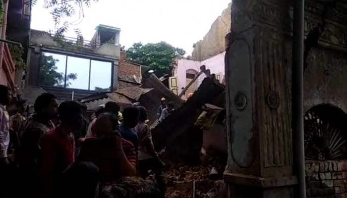 Ahmedabad: 2 dead, 5 injured after 3-storey house collapses in Amraiwadi