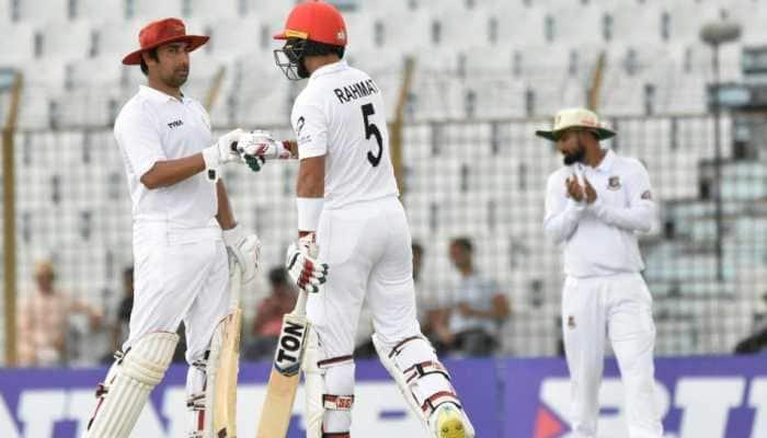 Afghanistan ride Rahmat Shah's ton to post 271/5 against Bangladesh