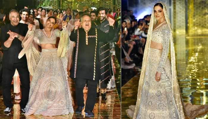 Deepika Padukone slays on ramp, dances to 'Disco Deewane' at Abu Jani-Sandeep Khosla's 33 years in fashion celebrations—Watch