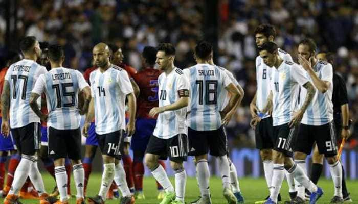 Argentina settle for goalless draw against Chile in combative friendly