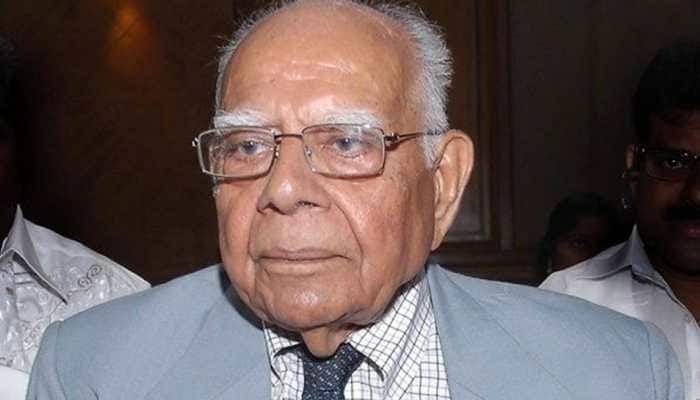 Veteran lawyer and former union minister Ram Jethmalani dies aged 95