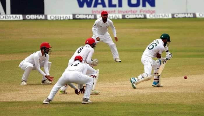 Spinners help Afghanistan inch closer to a famous win against Bangladesh
