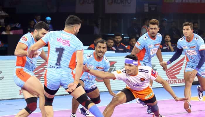 PKL 7: Bengal Warriors prevail over Puneri Paltan 42-39
