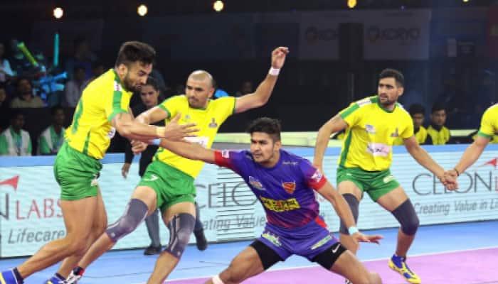 Pro Kabaddi: Dabang Delhi beat Tamil Thalaivas 50-34