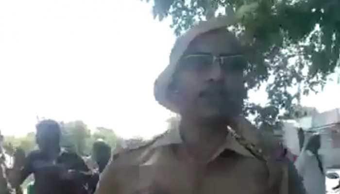Tamil Nadu cop rescues snake from roadside tree, video goes viral