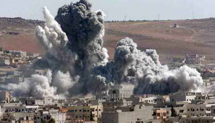 Airstrikes hit Syria ceasefire zone: Monitor