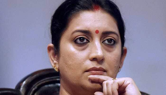 Smriti Irani reviews projects in Amethi calls for ban on single-use plastic