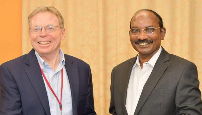 Scientists from California meet ISRO chief K Sivan, team Chandrayaan-2