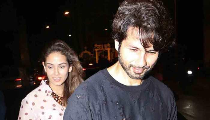 Shahid Kapoor and wifey Mira Rajput papped on a dinner date—Photos