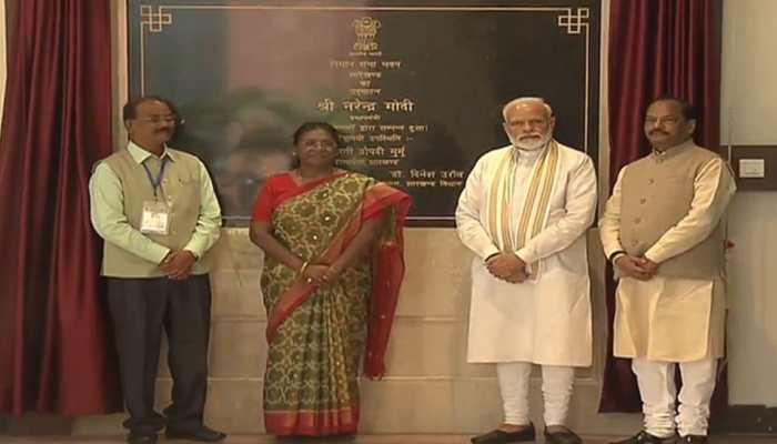 PM Modi inaugurates New Jharkhand Vidhan Sabha building in Ranchi