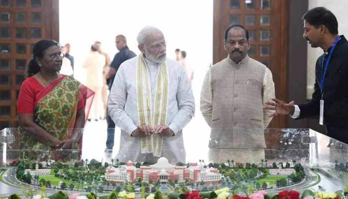 Prime Minister Narendra Modi inaugurates India's first paperless Legislative Assembly in Jharkhand