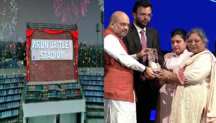 Delhi's Feroz Shah Kotla Stadium renamed after Arun Jaitley; Virat Kohli, top cricketers attend event