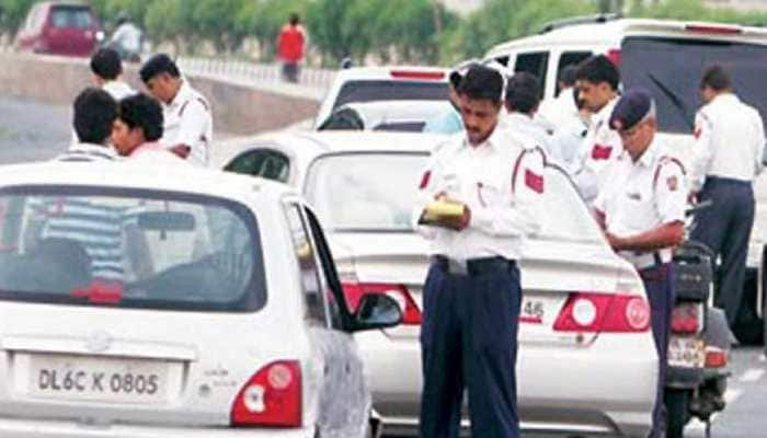 Delhi: Truck owner fined Rs 2,00,500 for violating traffic rules