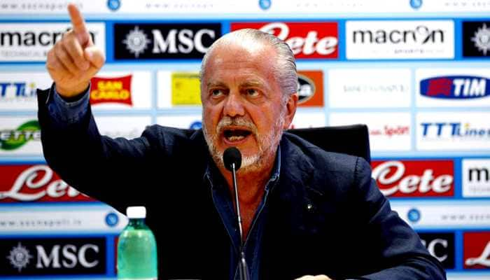 Young fans view football as a prehistoric game, warns Napoli boss Aurelio De Laurentiis