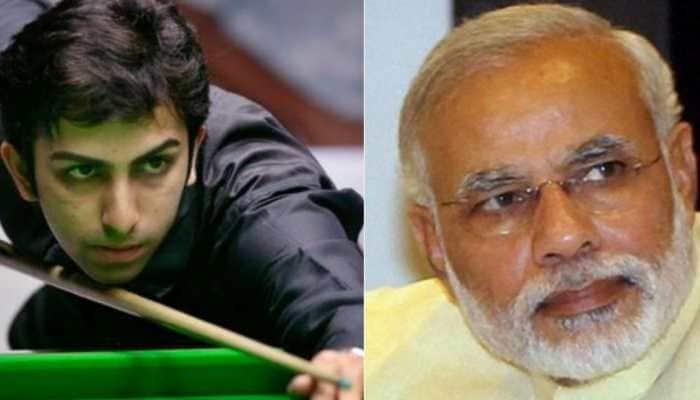 PM Narendra Modi lauds Pankaj Advani for winning 4th straight final at IBSF World Billiards Championship