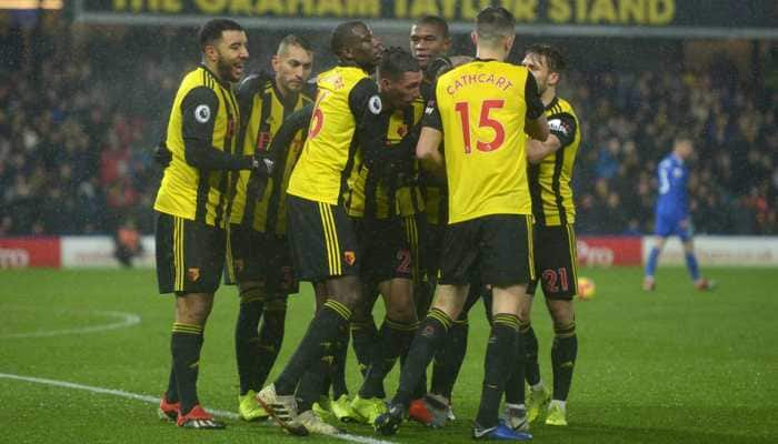 Premier League: Watford battle back to salvage draw against Arsenal