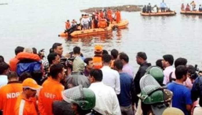 Godavari tourist boat capsize: 13 dead, no trace of 21 missing survivors
