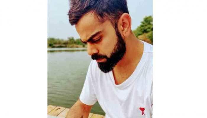 Virat Kohli flaunts Anushka's initials on t-shirt--See pic