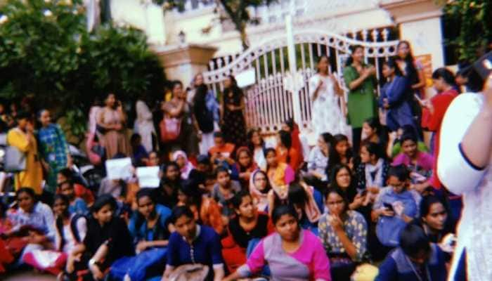 Girl students up in arms over Hyderabad college's dress code diktat