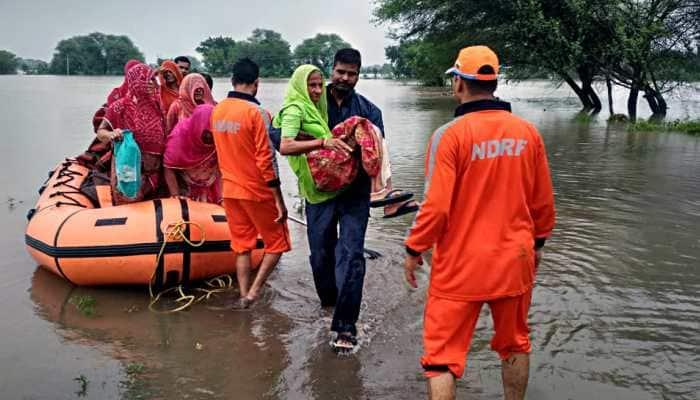 Heavy rains unleash mayhem in Madhya Pradesh, Red Alert issued for several districts