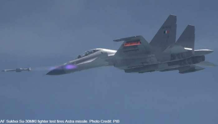 IAF Sukhoi Su-30MKI successfully test-fires Astra BVR Air-to-Air missile developed by DRDO