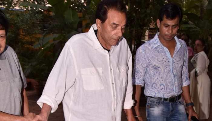Dharmendra takes to social media for grandson Karan Deol's sake