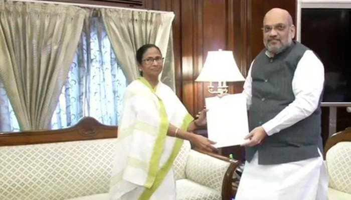 West Bengal Chief Minister Mamata Banerjee meets Home Minister Amit Shah, says no need to implement NRC in West Bengal