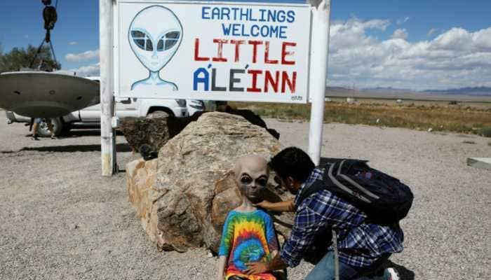 'Storm' Area 51: Alien enthusiasts descend on Nevada desert near secretive US base