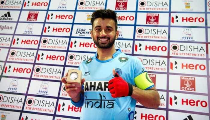 Manpreet Singh to lead 20-member Indian men's hockey team during Belgium tour