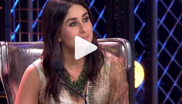 Karan Wahi turns poet for Kareena Kapoor on the sets of Dance India Dance-Watch