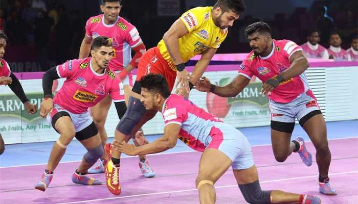 PKL 7: Jaipur Pink Panthers, Gujarat Fortunegiants play out 28-28 tie