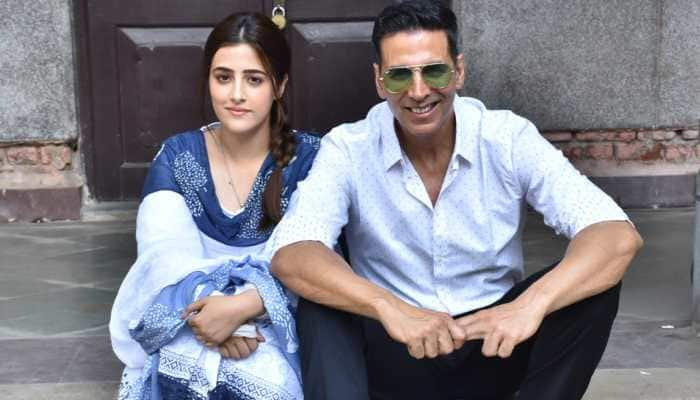Akshay Kumar pairs up with Nupur Sanon for a music video